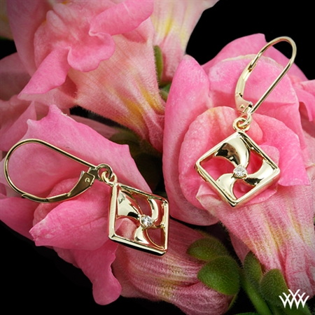 Tides of Change Diamond Charm Earrings