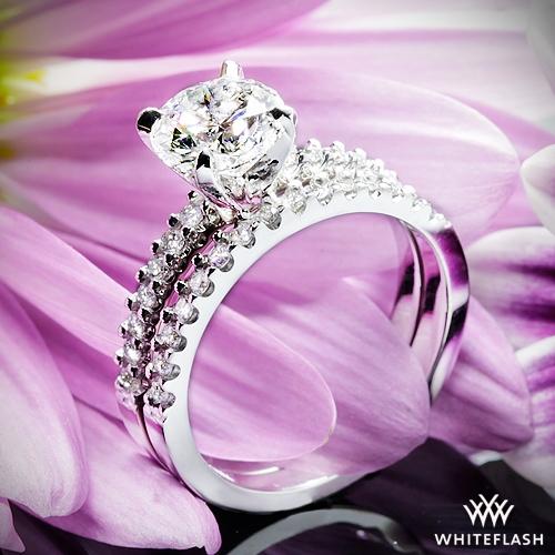 Petite Diamond Wedding Set 1483