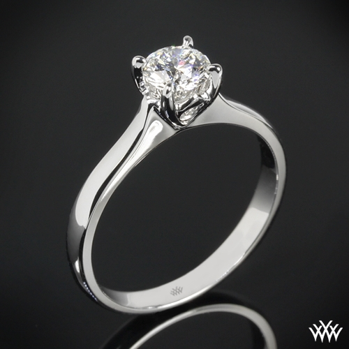 """Comfort Fit Surprise"" Solitaire Engagement Ring"