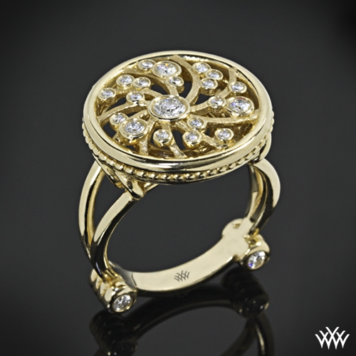 Dreams of Africa Diamond Right Hand Ring