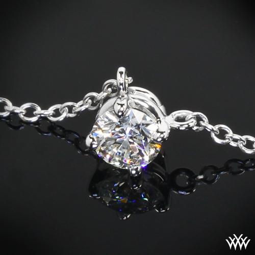 Four Corners Diamond Pendant