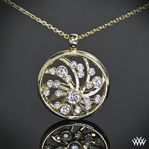Mini Dreams of Africa Diamond Pendant