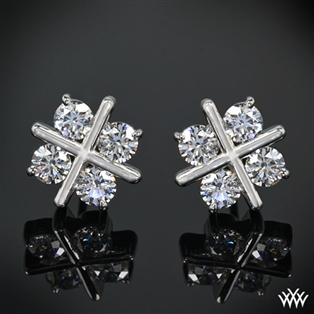 XO Diamond Earrings