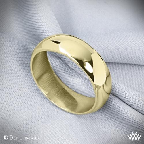 Jewelry Adviser Rings 14k White Gold 2mm Half-Round Band