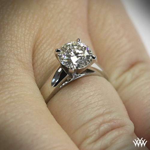 Cathedral Diamond Solitaire Setting 478