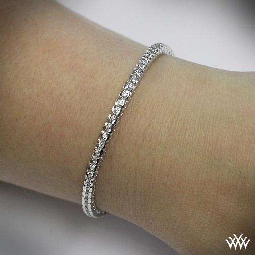 diamond tennis bracelet: