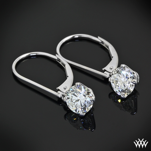 """Inspiration-Al"" Diamond Earring Settings"