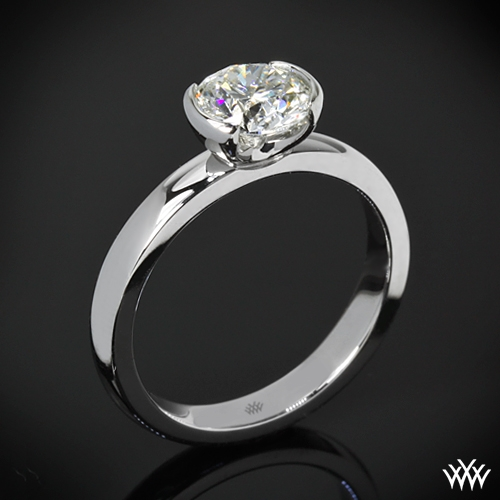 """True Love"" Solitaire Engagement Ring"