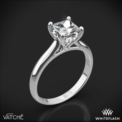 Vatche 188 Caroline Solitaire Engagement Ring for Princess