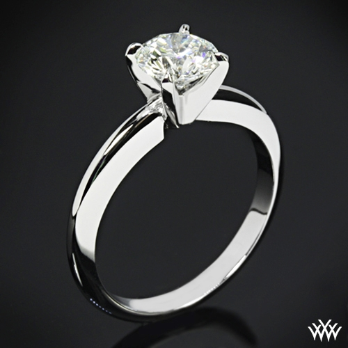 4 Prong Solitaire Engagement Ring