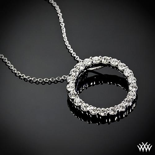 Compare Prices On 1ct Diamond Pendant Online Shopping Buy: 'Circle Of Life' Diamond Pendant
