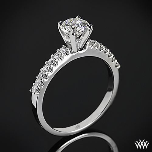 """Petite"" Diamond Engagement Ring"