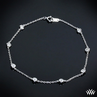 Whiteflash by the Yard Diamond Bracelet