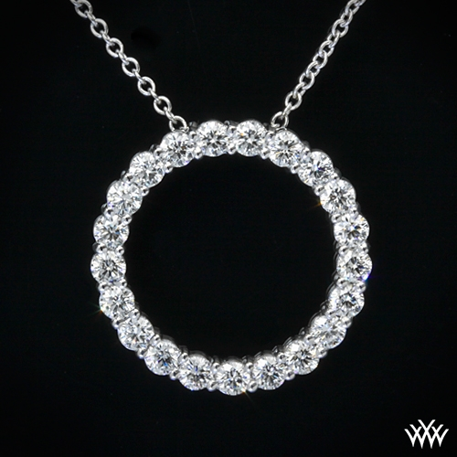 Circle of life diamond pendant 703 zoomed view aloadofball Images