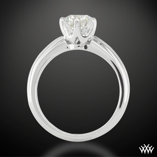 5d7f69487 Classic Knife Edge Engagement Ring from Whiteflash   713
