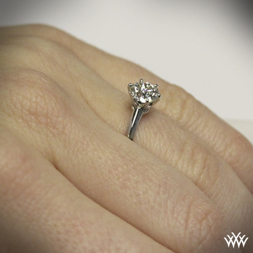 e043ecec5 Classic Knife Edge Engagement Ring from Whiteflash | 713