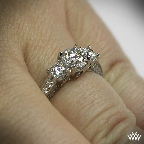 Coeur de Clara Ashley Engagement Ring 660