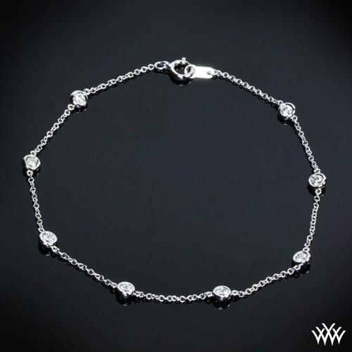 Whiteflash by the Yard Bracelet