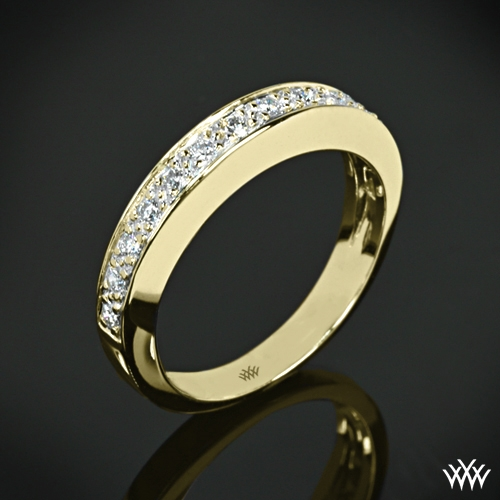 Half Eternity Bead-Set Diamond Wedding Ring