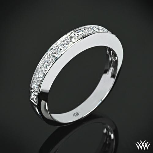 Half Eternity Bead-Set Diamond Wedding Ring