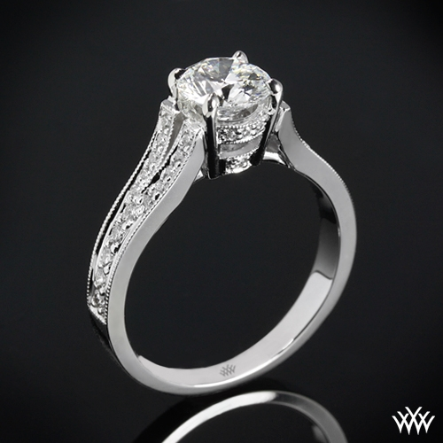 """Divisi"" Diamond Engagement Ring"