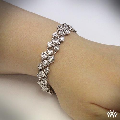the gallery for gt gold diamond bracelets for men