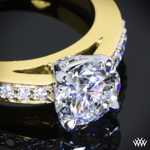 Flush Fit Diamond Engagement Ring 910