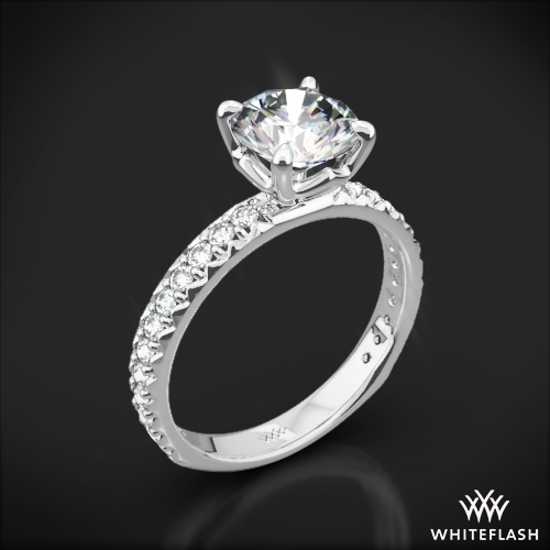 'Harmony' Diamond Engagement Ring