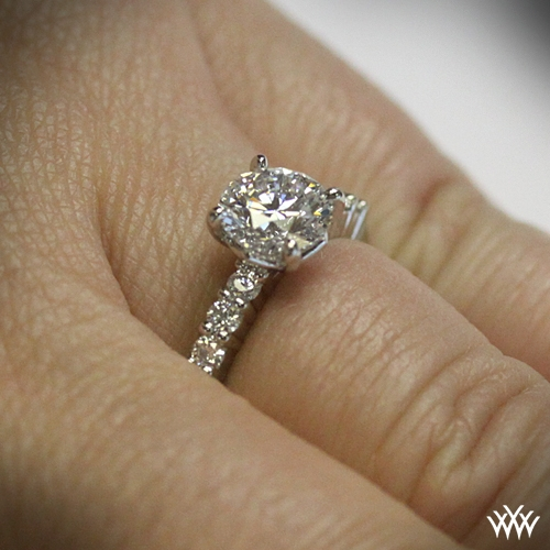 The Legato Shared Prong Diamond Engagement Ring 1008