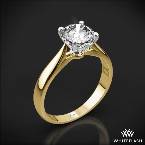 Legato Sleek Line Solitaire Engagement Ring