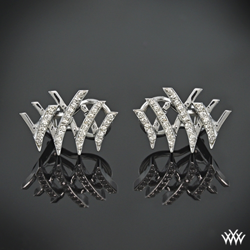 Whiteflash Signature Pave Diamond Earrings