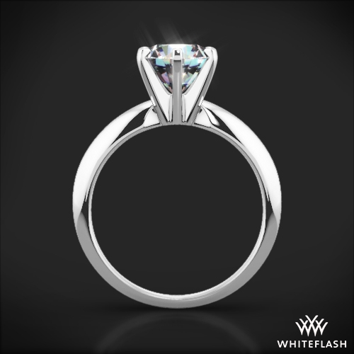 ring rae products one moissanite diamond classic forever halo rings engagement