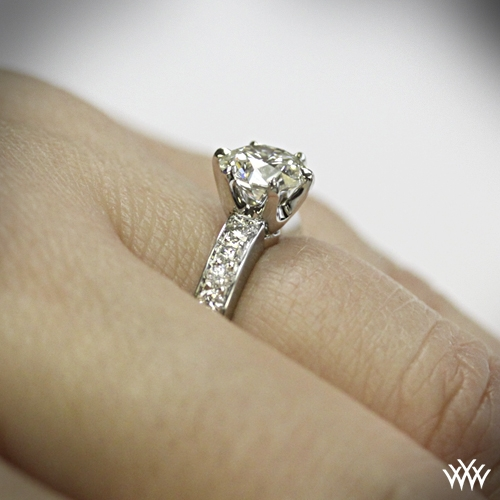Classic BeadSet Diamond Engagement Ring 872