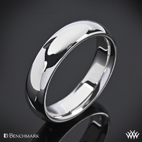 Benchmark Comfort Fit Wedding Ring