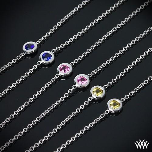 Color Me Mine Diamond and Sapphire Necklace