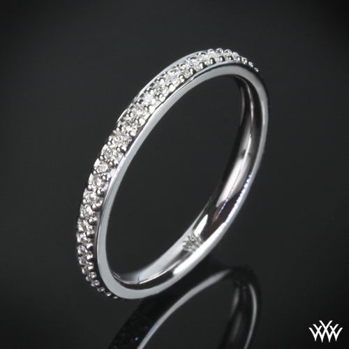 'Halo' Diamond Wedding Ring