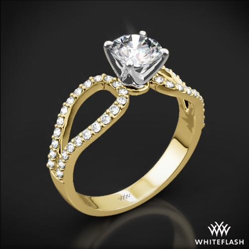 infinity diamond engagement ring 1100. Black Bedroom Furniture Sets. Home Design Ideas