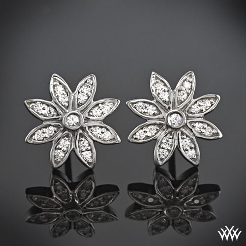 """Starburst"" Diamond Earrings"