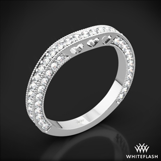 Coeur de Clara Ashley Diamond Wedding Ring