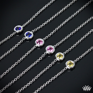 Color Me Mine Diamond and Sapphire Necklace