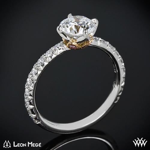 style photo real photo - Lotus Wedding Ring