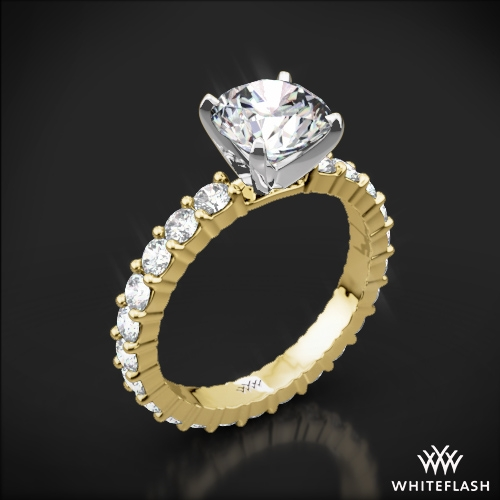 Diamonds for an Eternity Diamond Engagement Ring
