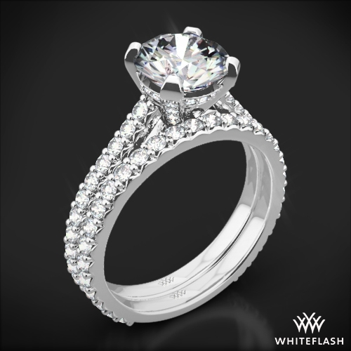 Elena Diamond Wedding Set