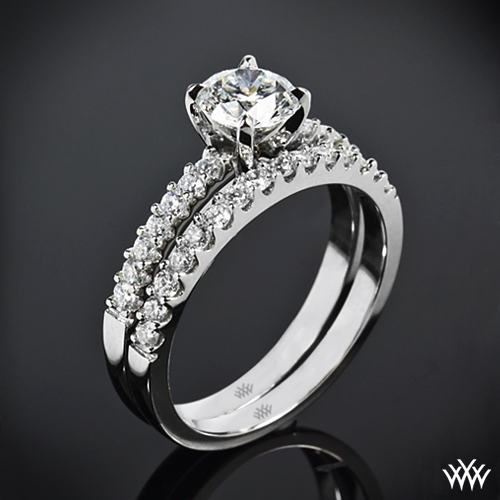 """Petite"" Diamond Wedding Set"