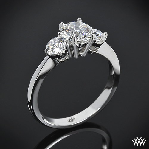 """Trois Brilliant"" 3 Stone Engagement Ring"