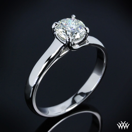 X-Prong Trellis Solitaire Wedding Set