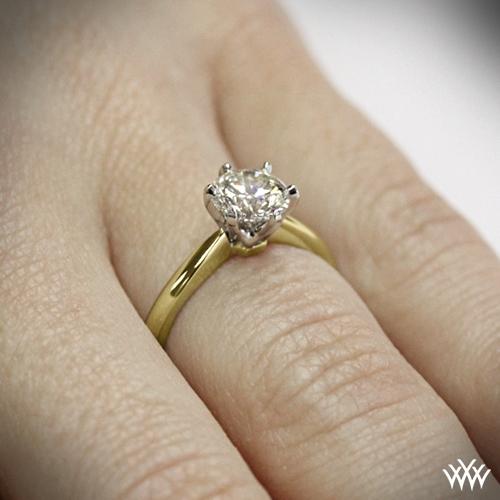 18k yellow gold wedding rings