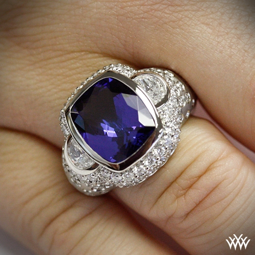 "Champagne Tanzanite Tanzanite: ""Champagne"" Diamond And Tanzanite Right Hand Ring"