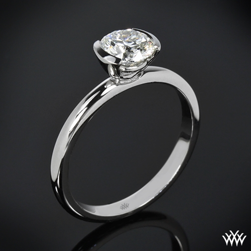 """Eternal Love"" Solitaire Engagement Ring"