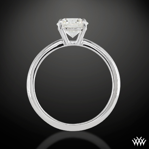 etoile du couer solitaire engagement ring 1563. Black Bedroom Furniture Sets. Home Design Ideas